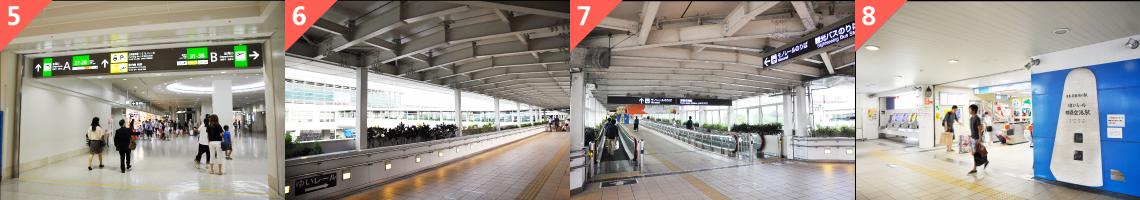 从那霸机场换乘冲绳单轨指引2
