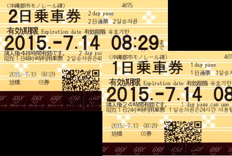 冲绳单轨一日乘车券