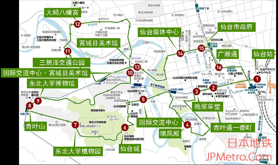 Loople巴士线路图