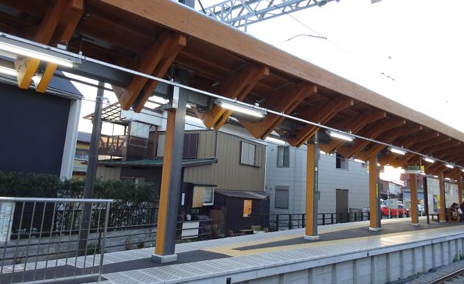 江之岛电铁稻村崎站