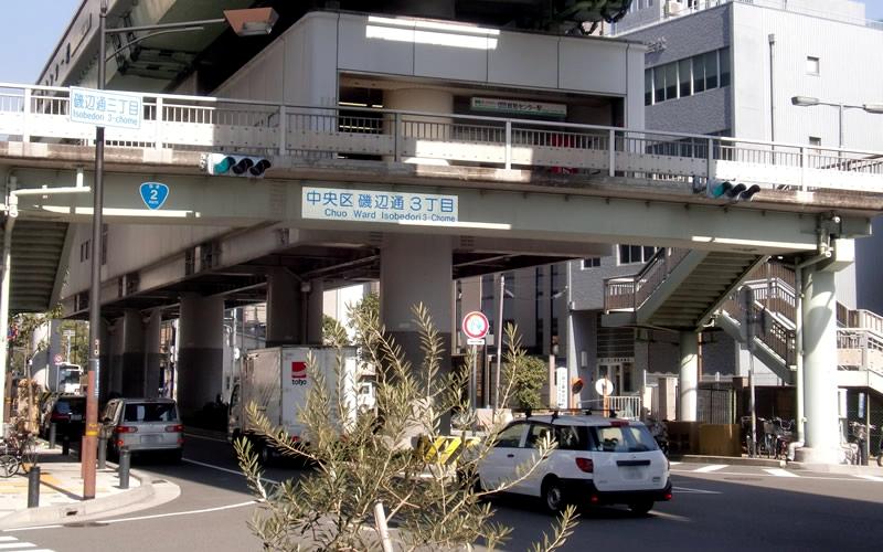 神户新交通港湾人工岛线贸易中心站