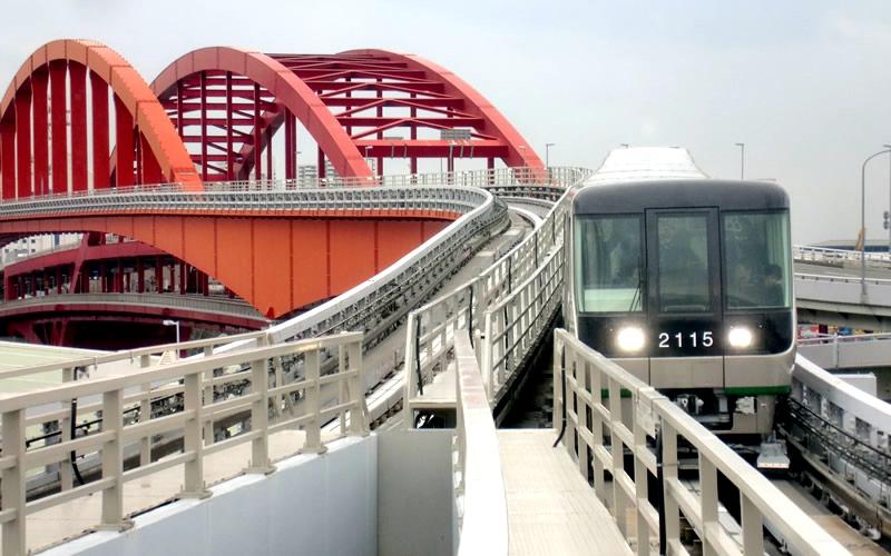 神户新交通港湾人工岛线客运港站