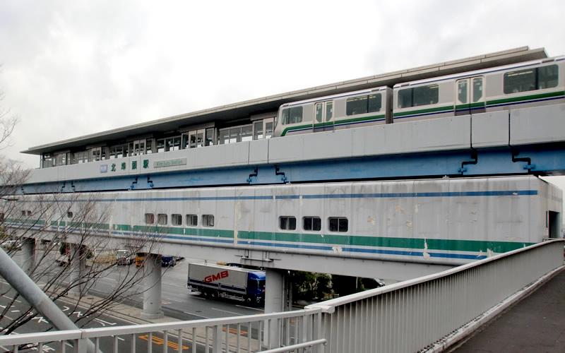 神户新交通港湾人工岛线北埠头站