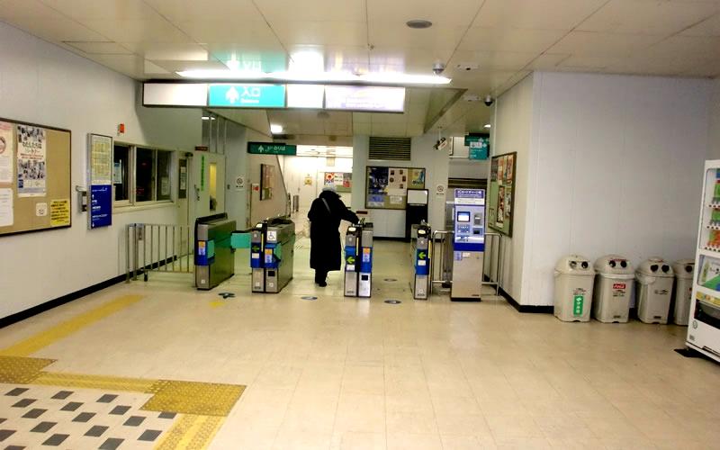 神户新交通六甲人工岛线岛北口站