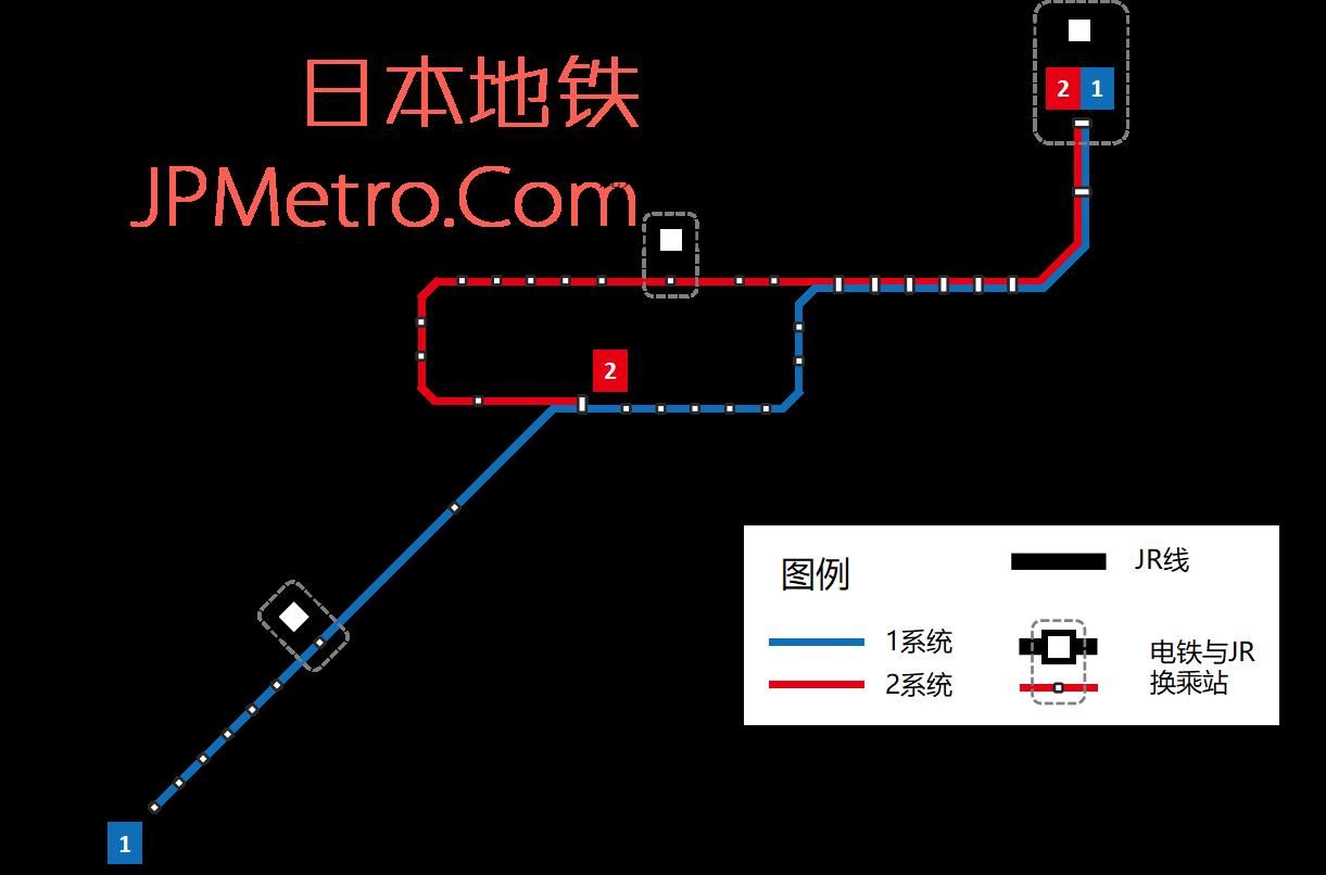 鹿儿岛电铁线路图