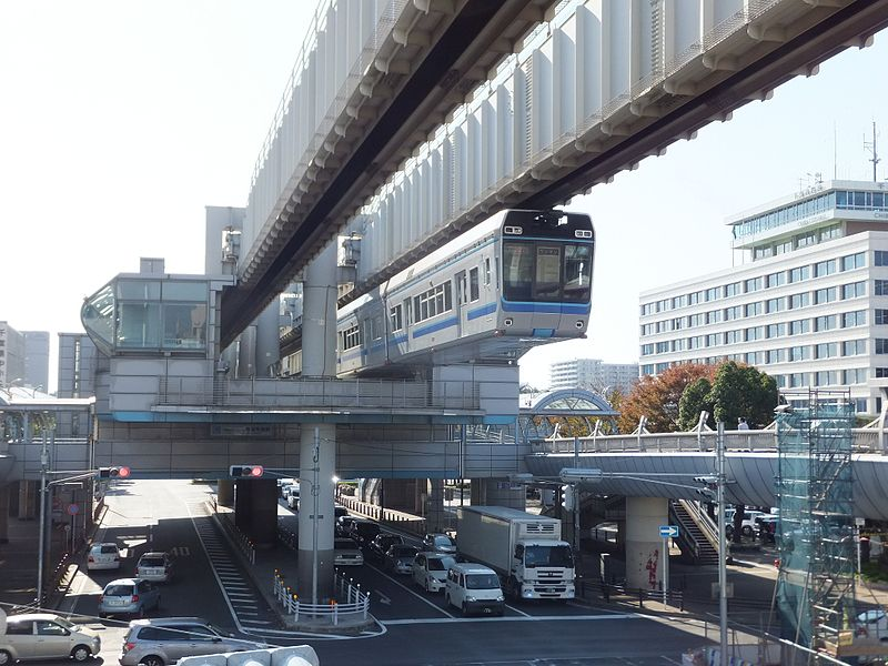 千叶单轨市役所前站