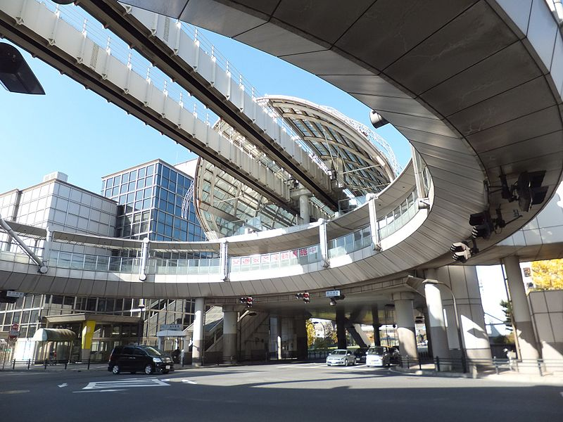 千叶单轨县厅前站