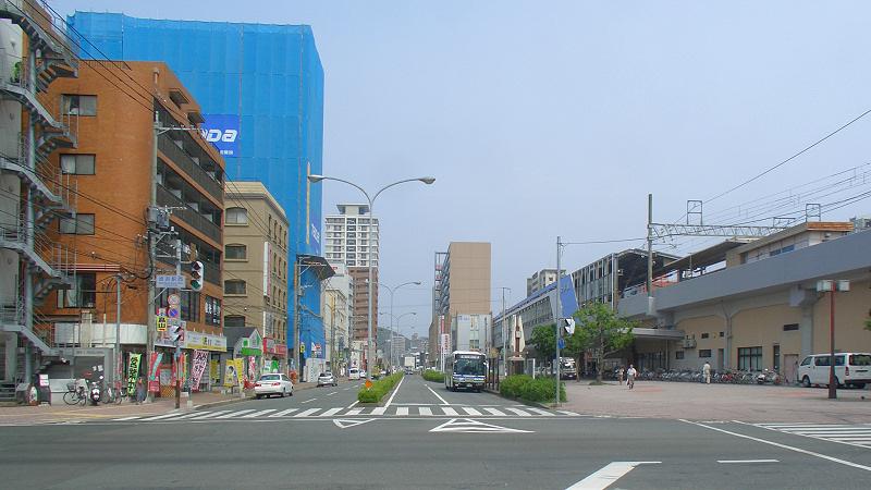 福冈地铁姪滨车站北侧