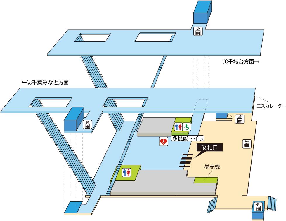 千叶单轨体育中心站