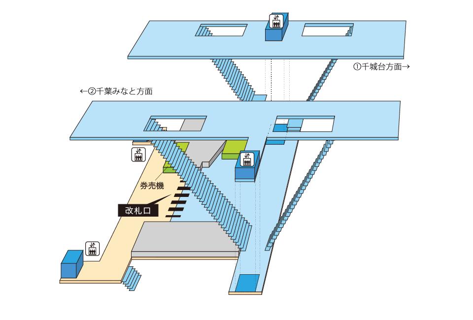 千叶单轨小仓台站