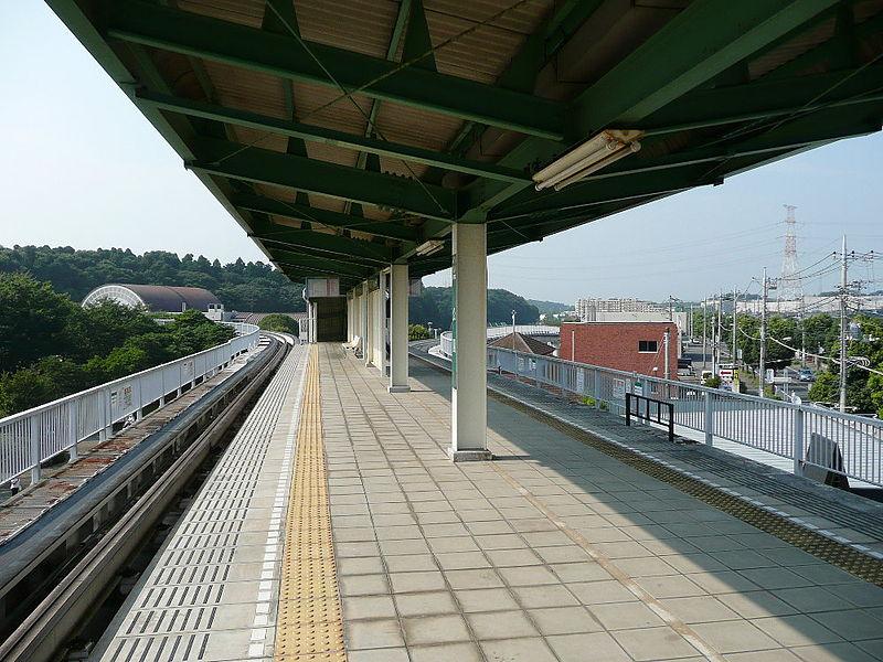 佐仓APM公园站站台