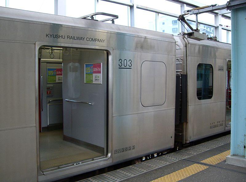 JR九州303系列车厕所