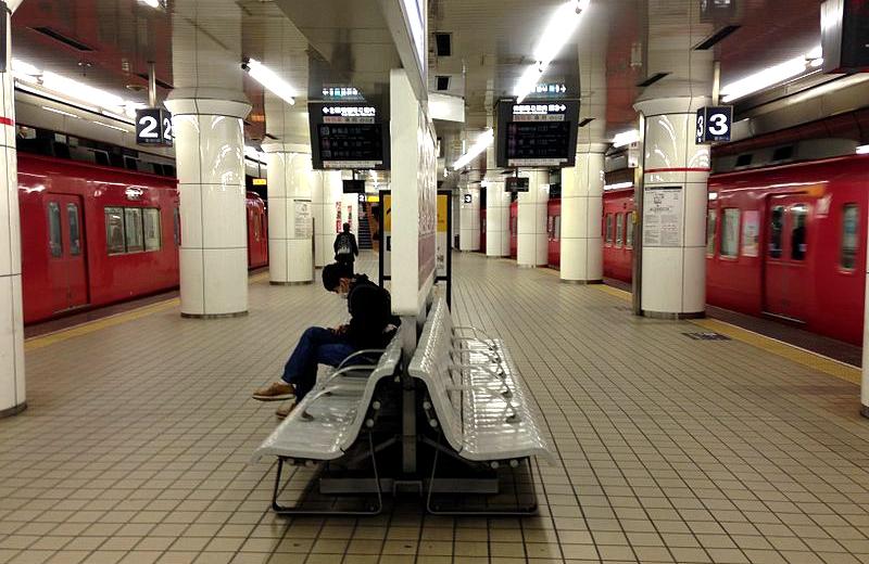 JR名古屋车站站台