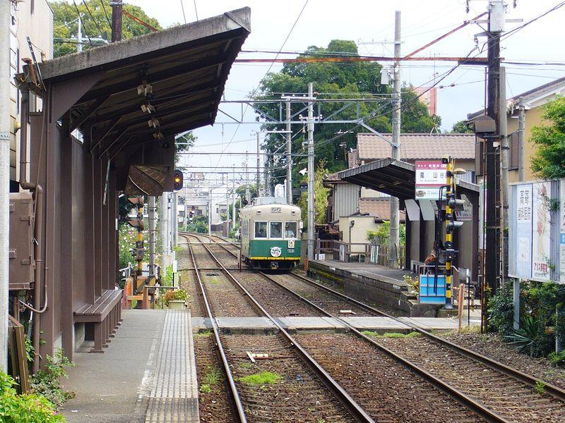 JR京福有栖川站
