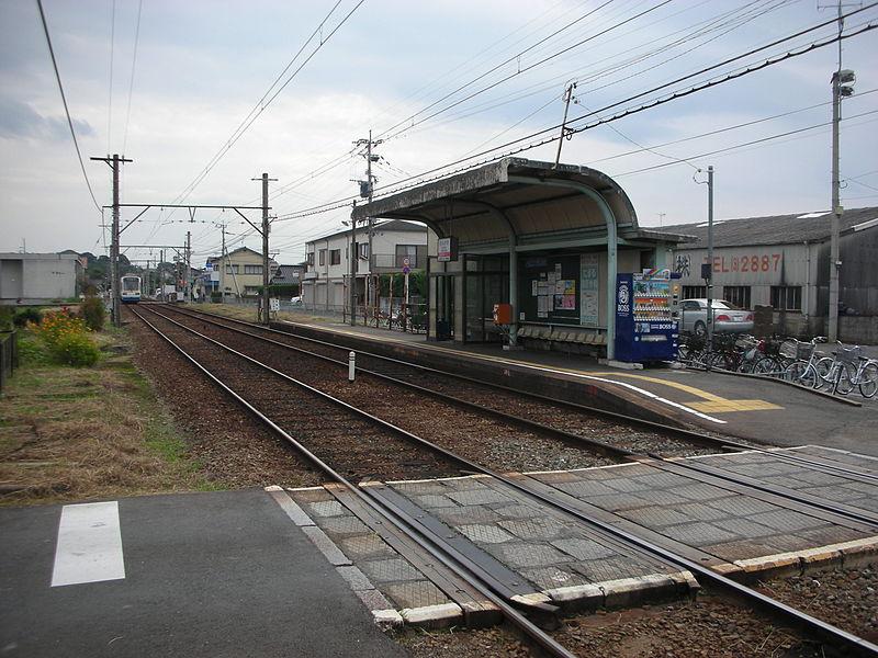 筑丰电铁远贺野车站