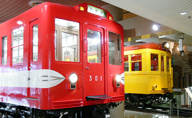 东京地铁博物馆列车模型