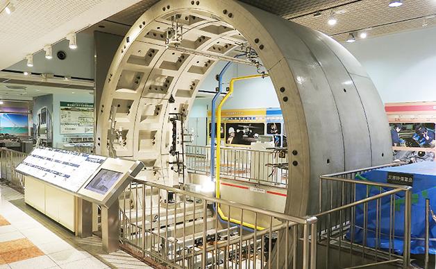 东京地铁博物馆地铁隧道的组成