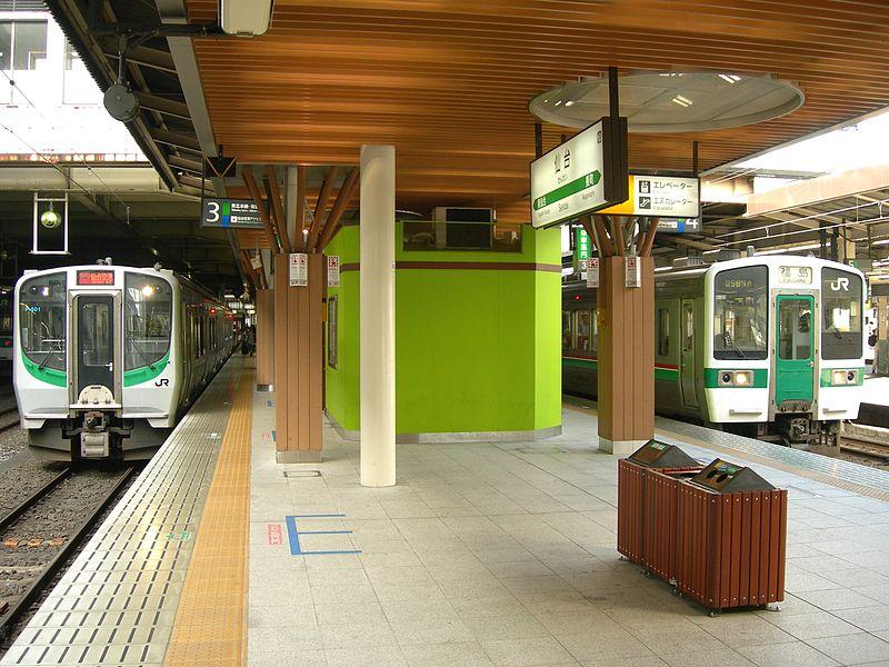 仙台车站3,4号JR既有线站台