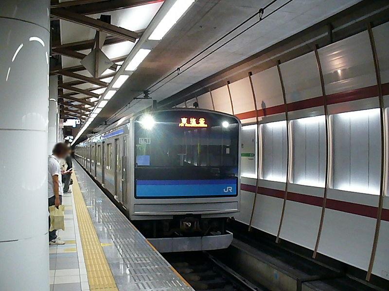 仙石线10号站台