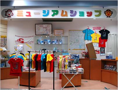 东京地铁博物馆内的纪念品商店