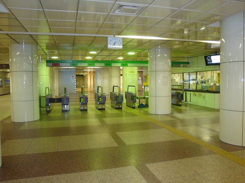 仙台地铁仙台站南检票口