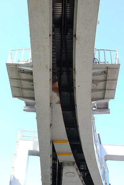 悬挂式单轨转辙器