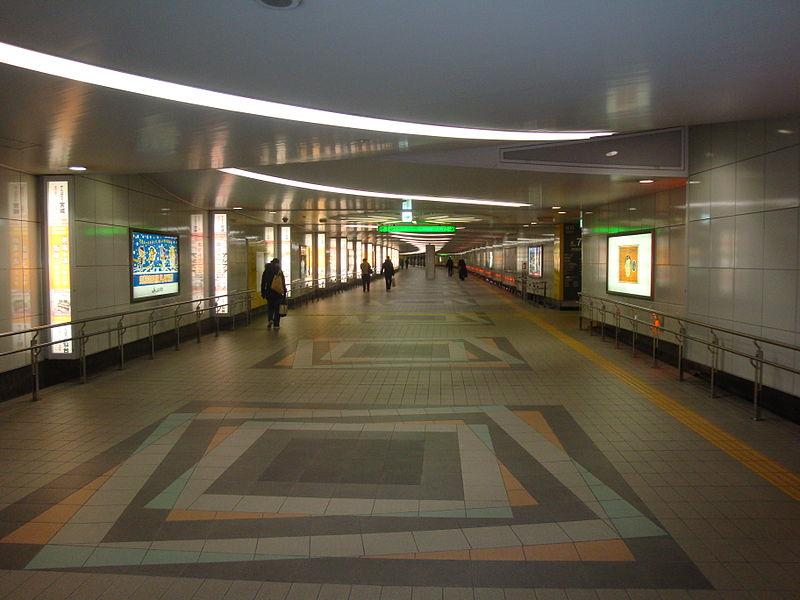 仙台车站地下行人通道