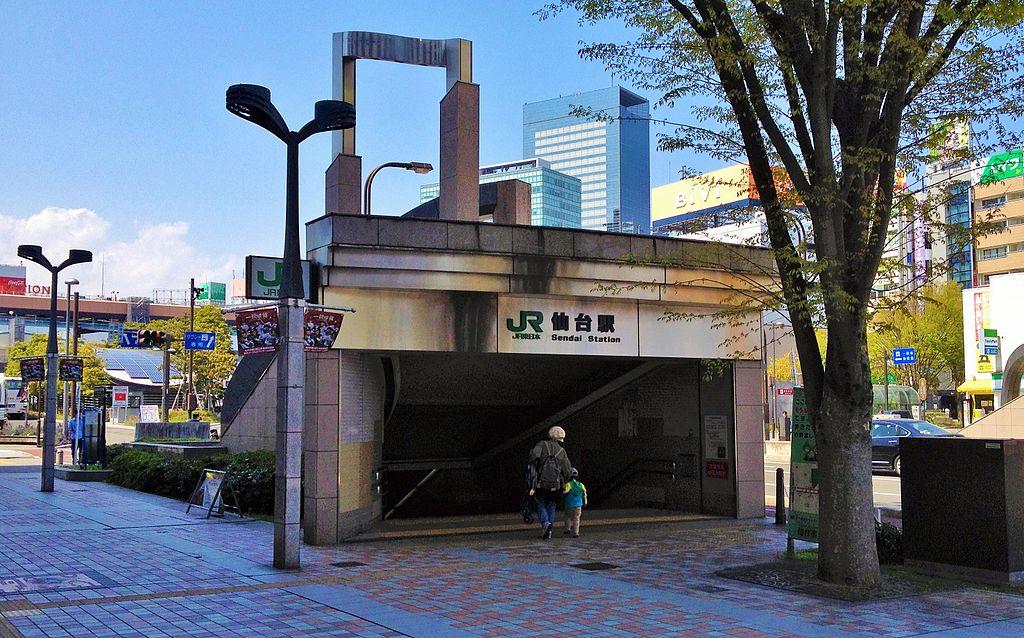 东侧仙台站附近的2号出入口