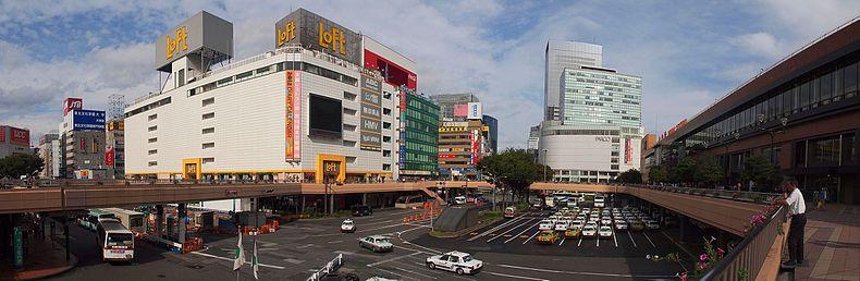 仙台车站西口南侧