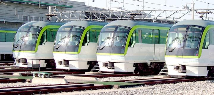 福冈地铁七隈线线列车