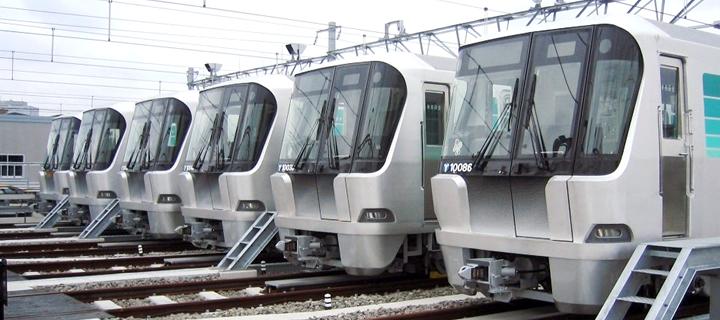 横滨地铁绿线列车