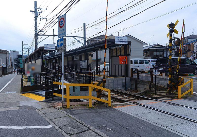 京福电铁摄影所前站