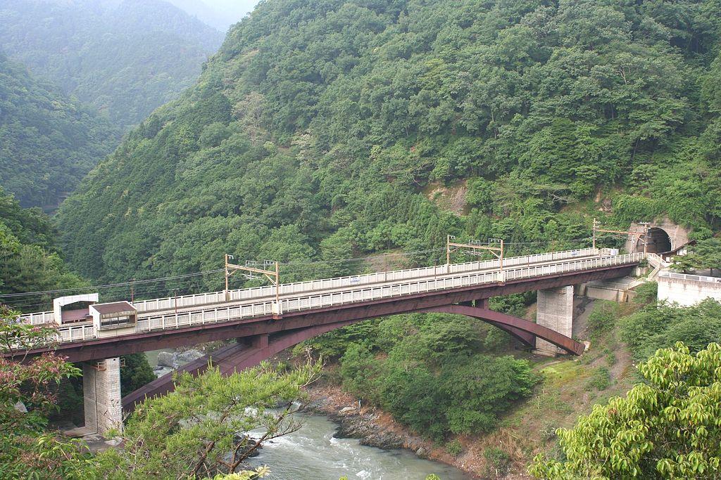 保津峡车站全景
