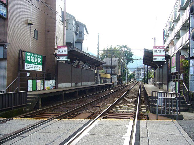 京福电铁鹿王院站