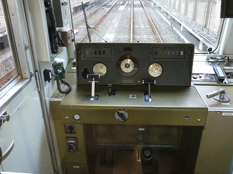 京都地铁10系列车驾驶室