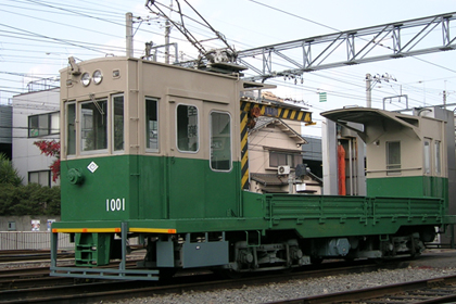 京福电气铁道1001系列车