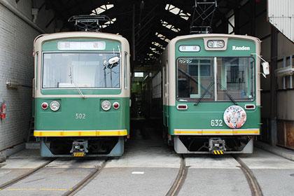 京福电气铁道501系列车和631系列车