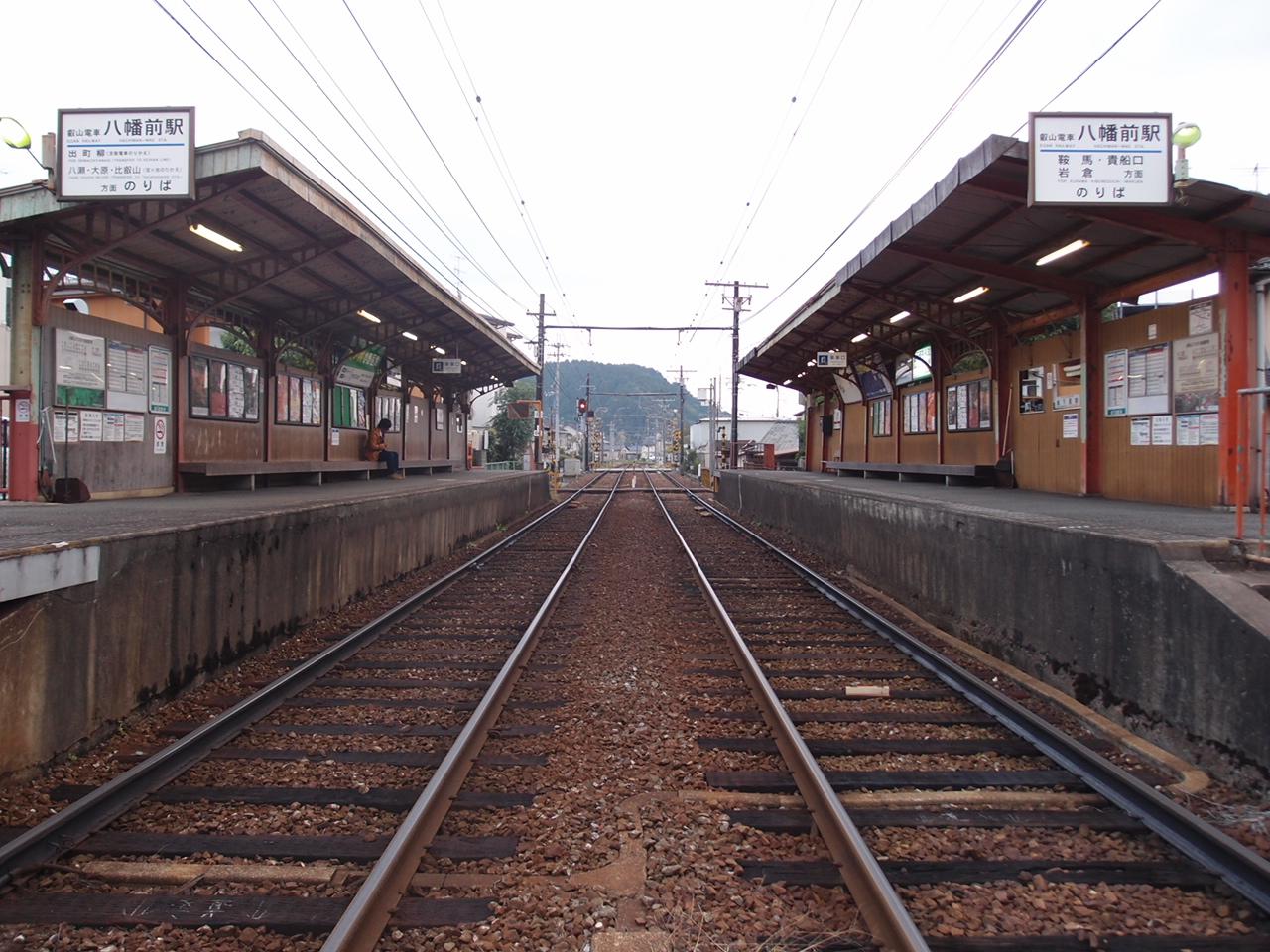 叡山电铁八幡前站