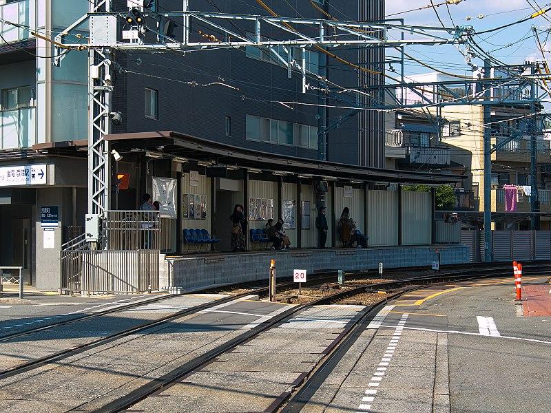 京福电铁西院站