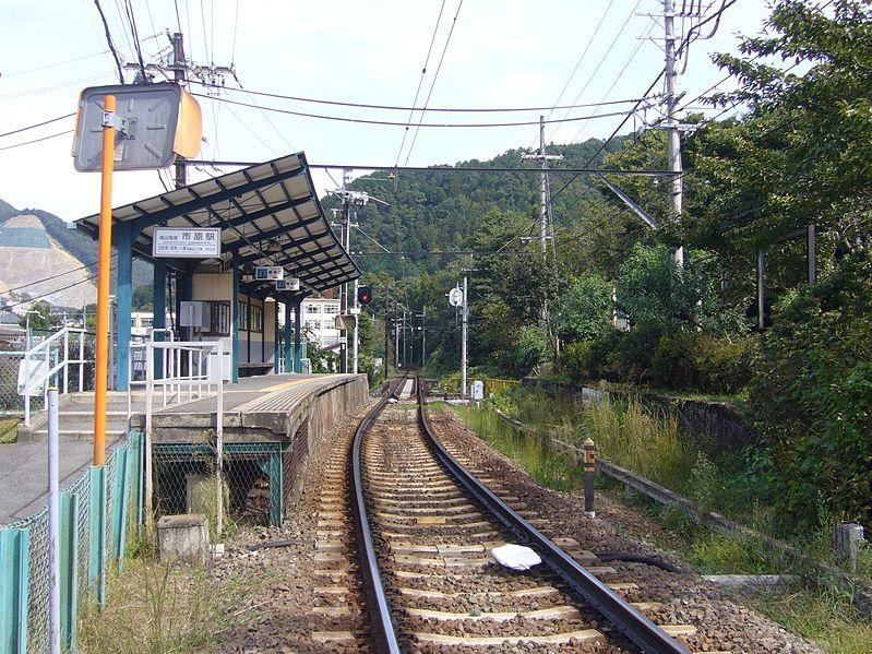 叡山电铁市原站