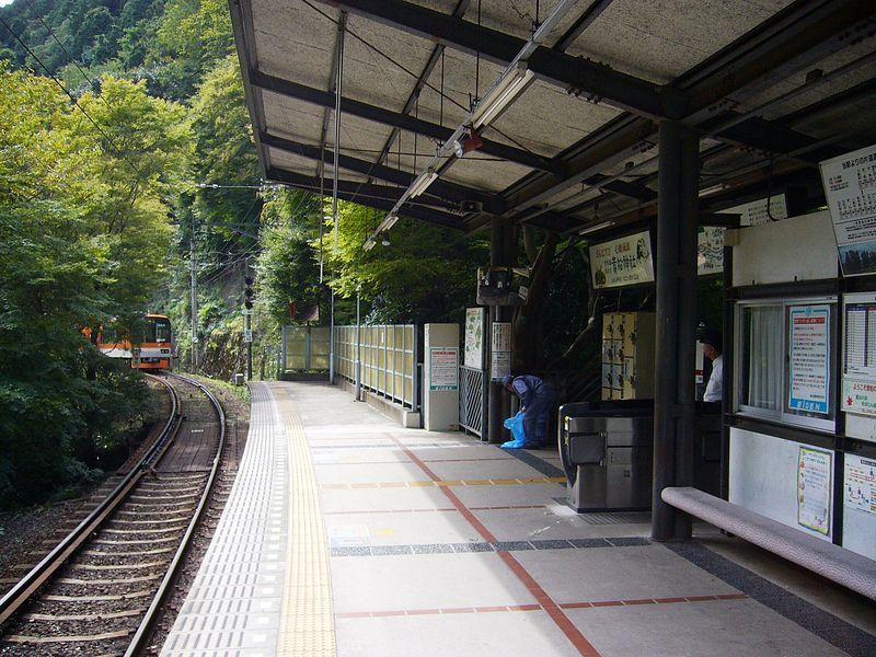 叡山电铁贵船口站