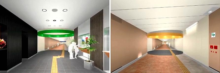 桂台电梯地下长廊
