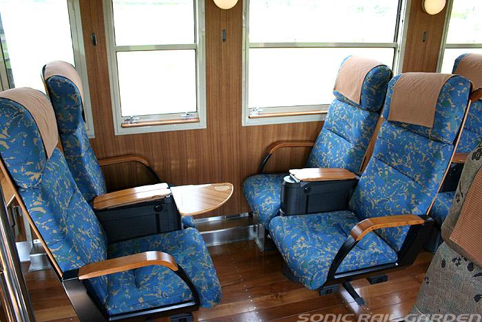 指宿之玉手箱号列车双人并排座椅