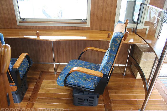 指宿之玉手箱号列车单人座椅