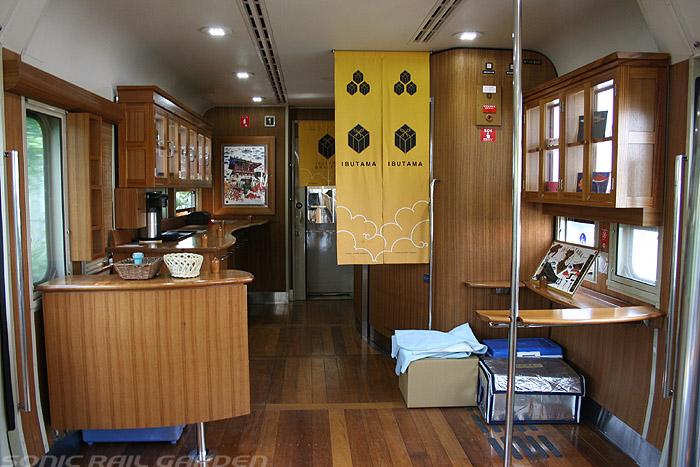 指宿之玉手箱号列车服务台与洗手间