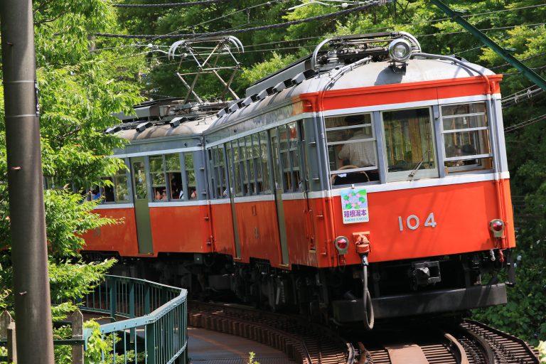 箱根登山铁道モハ1型列车