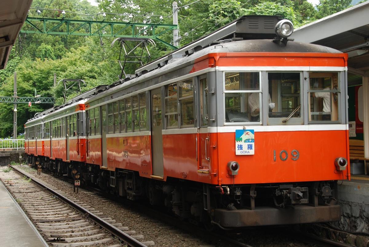 箱根登山铁道モハ2型列车