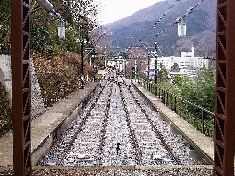 箱根登山铁道上大平台信号所