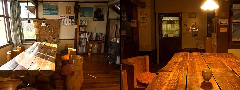 比罗夫站民宿一楼客厅