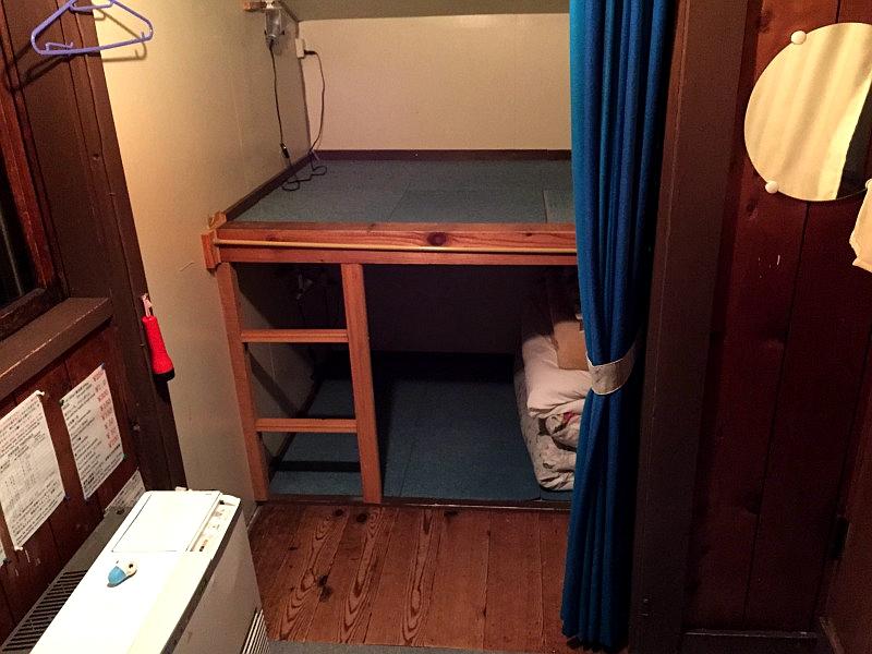 比罗夫车站旅馆二楼的房间